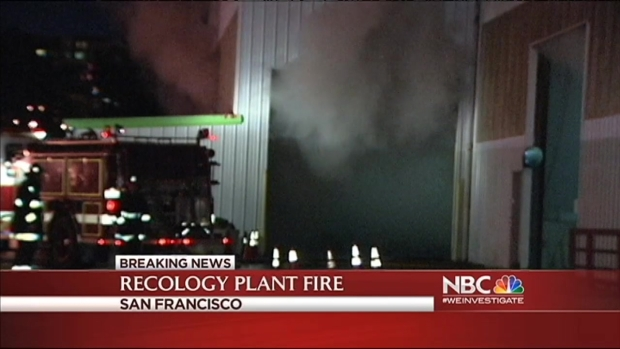 [BAY] No Injuries Reported in SF Disposal and Recycling Center Fire