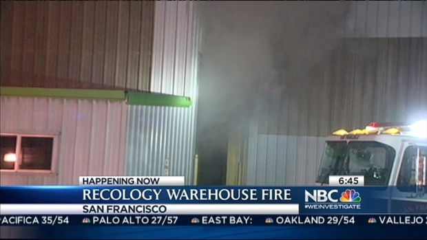 [BAY] Recology Fire Put Out in SF After 9 Hours