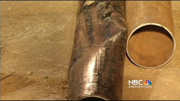 [BAY] PG&E Investigating Oakland Gas Line That Erupted