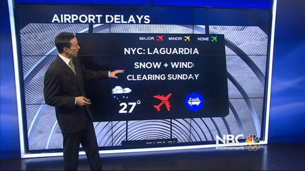 [BAY] Northeast Storm Causing Delays at Bay Area Airports