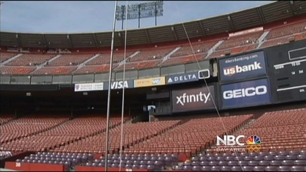 [BAY] Candlestick Park Nears Its Last Big Sports Event