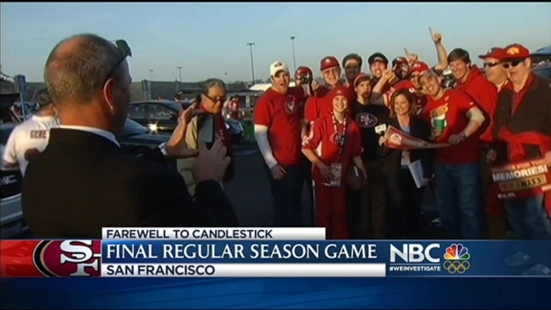 [BAY] 49ers Say Farewell to Candlestick Park
