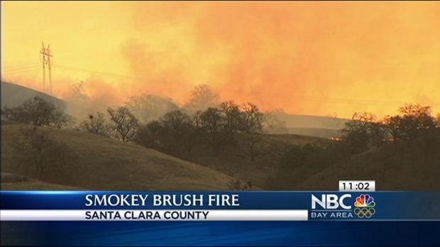 [BAY] Vandals Likely Started Near San Jose Grant County Park Blaze