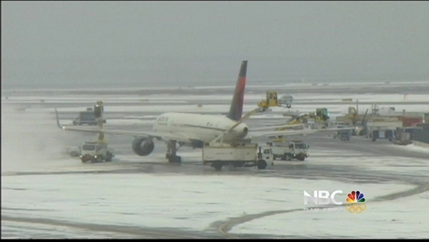 [BAY] Severe East Coast Weather Cancels Flights at SFO