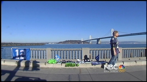 [BAY] No Warm Reception for Seahawks Fan in San Francisco