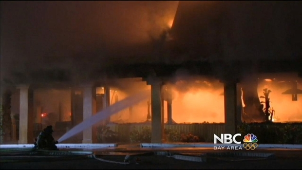 [BAY] Flames Restaurant in San Jose Destroyed by 4-Alarm Fire