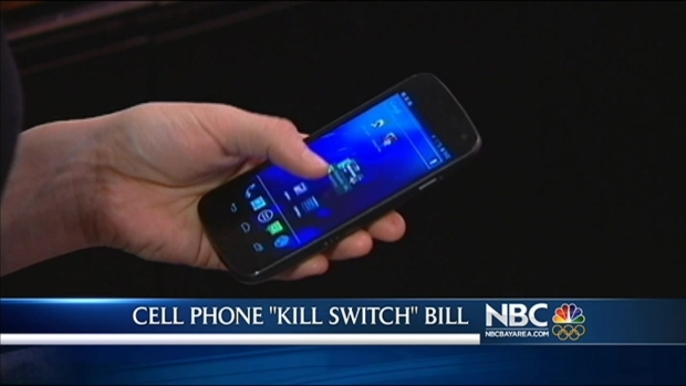 "[BAY] California Lawmakers Push for Smartphone ""Kill Switch"""
