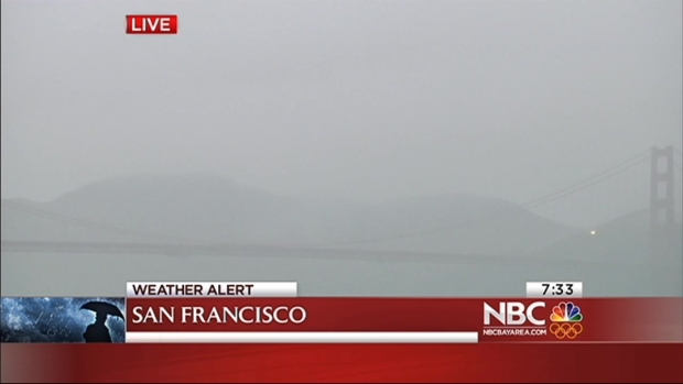 [BAY] Rain Soaking the Bay Area, Sparks Flood Warnings