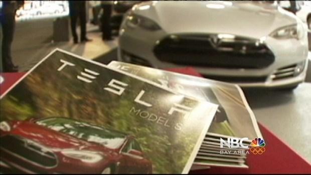 [BAY] Rumors Swirl Over Reported Apple, Tesla Talks