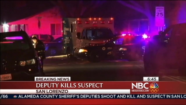 [BAY] Alameda County Sheriff's Deputies Kill Man Wielding Baseball Bat in San Lorenzo