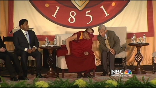 [BAY] Dalai Lama Speaks at Santa Clara University