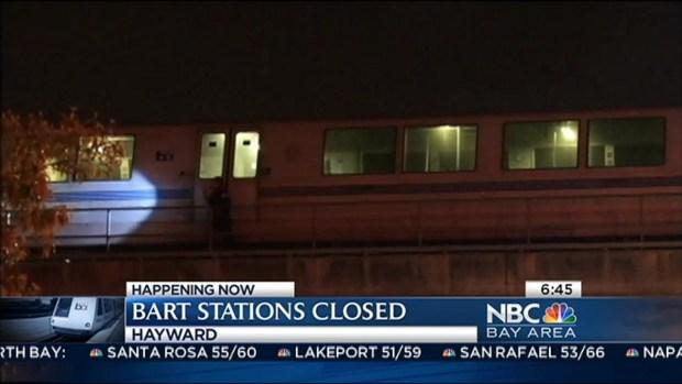 [BAY] UPDATE: BART Service Remains Shut Down Between Fremont, Hayward