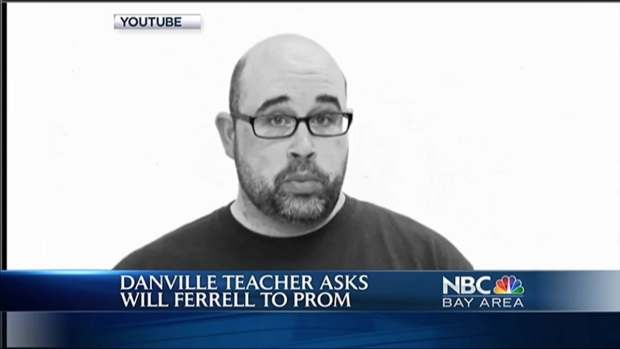 [BAY] Danville Teacher Asks Will Ferrell to Prom on YouTube