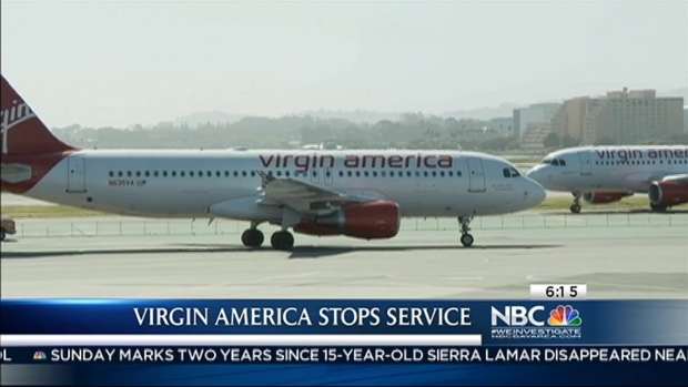 [BAY] Virgin America Shutting Down South Bay Service