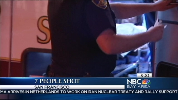 [BAY] 7 Shot in San Francisco