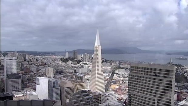[BAY] Time Lapse: Clouds Roll Past Transamerica Building