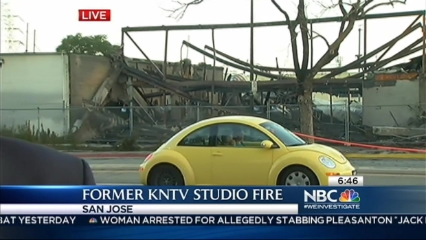 [BAY] Fire Destroys Former KNTV Studio