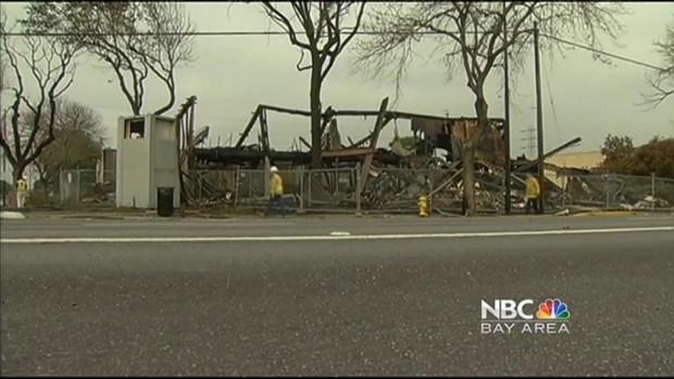 [BAY] Arson Investigators to Probe 5-Alarm Fire at Former KNTV Building