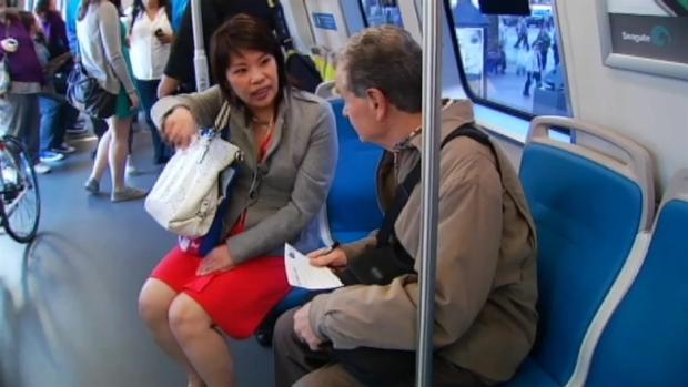 [BAY] BART Riders Get Sneak Peek At New Cars
