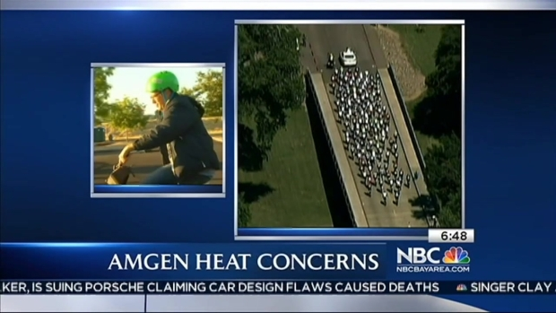 [BAY] Bob on a Bike: Amgen Heat Concerns