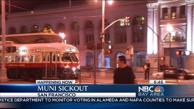 [BAY] Muni Sickout: Day Two