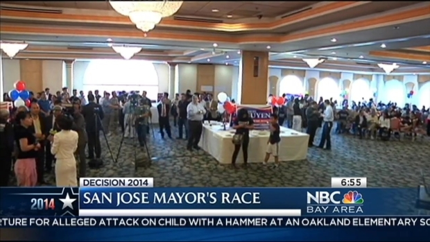 [BAY] Dave Cortese, Sam Liccardo to Face Off For SJ Mayor
