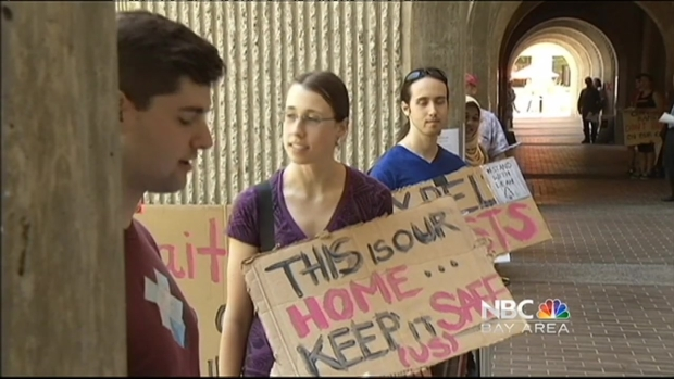 [BAY] Students Protest Stanford's Decision to Not Expel Student in Sex Assault Case