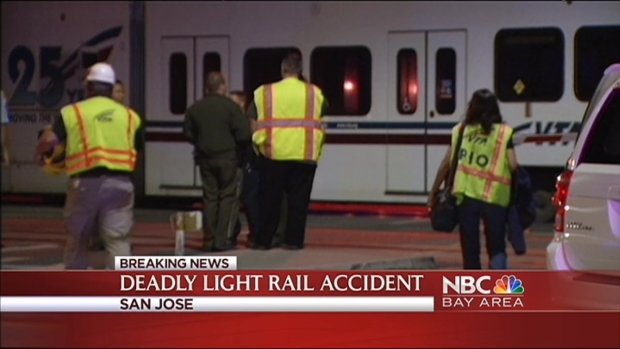 [BAY] VTA Light Rail Train Strikes, Kills Pedestrian in San Jose