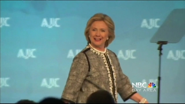 [BAY] Hillary Clinton Takes Book Tour to San Francisco