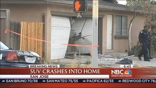 [BAY] Car Crashes into San Jose House