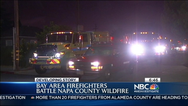[BAY] Local Firefighters Respond to Wildfire