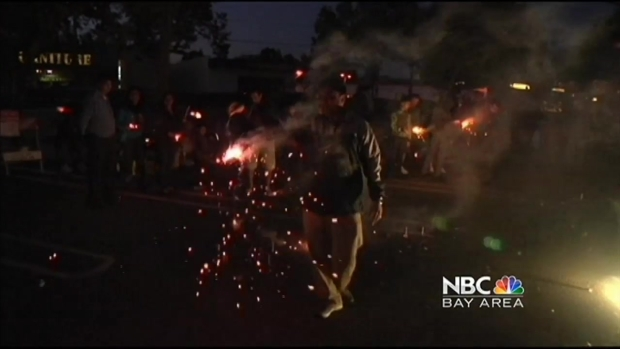 [BAY] Fireworks, Drought Put Firefighters on High Alert