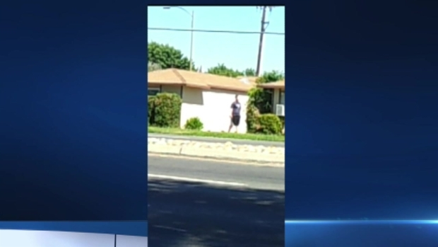 RAW VIDEO: Woman Carrying Cordless Drill Before Being Shot by San Jose Police