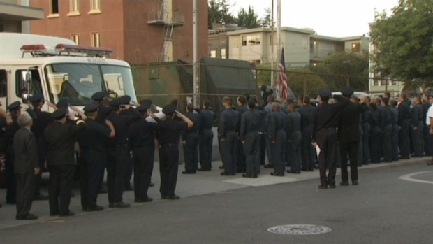 RAW VIDEO: San Francisco Firefighters Remember 9/11