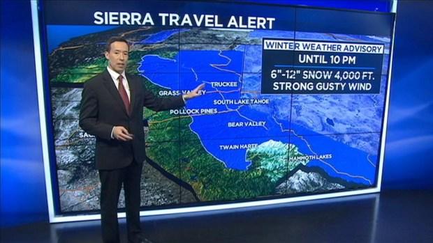 [BAY] Storm Brings Christmas Snow to Sierra