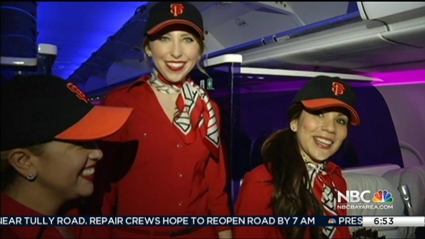[BAY] San Francisco Giants World Series Trophy Flies to Native NYC For 3rd Time