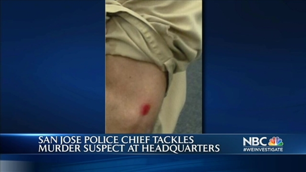 [BAY] SJ Police Chief Tackles Murder Suspect Who Tried To Escape