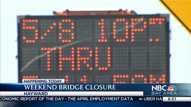 [BAY] San Mateo-Hayward Bridge to Close for Resurfacing, Maintenance