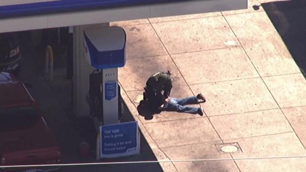 [BAY] Raw Video: Antioch Hostage Suspect Apprehended