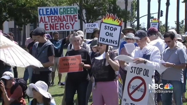 [BAY] San Jose Councilman, Activists Oppose Oil Train Through the City