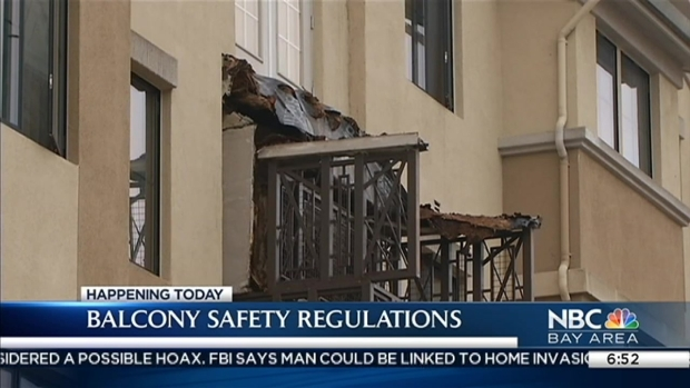 Berkeley Proposes Strict Balcony Rules in Wake of 6 Deaths, if Passed Could be 'Strictest in the State'