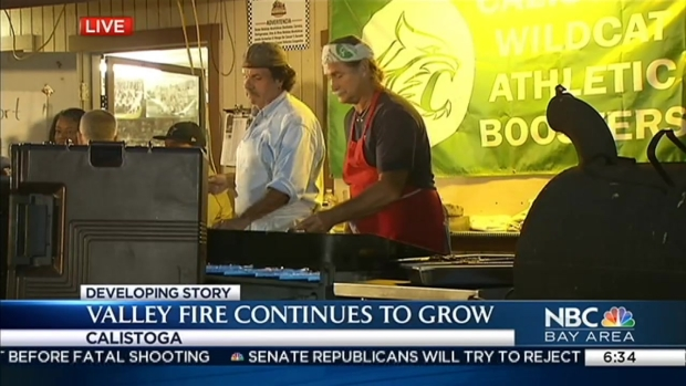 Valley Fire Evacuees Grateful for Calistoga Community's Support