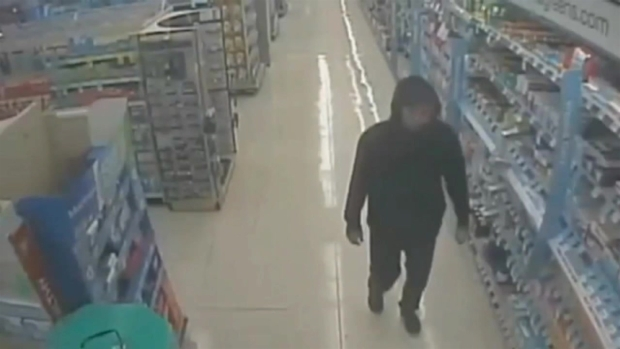 [BAY] RAW VIDEO: Robbery Suspect Caught on Pharmacy Camera