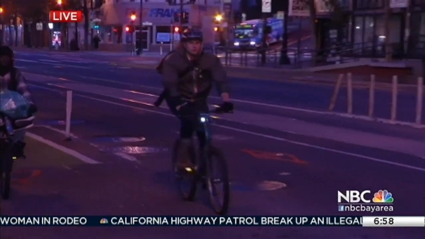 [BAY] Construction Begins on First Raised Bike Lane in San Francisco
