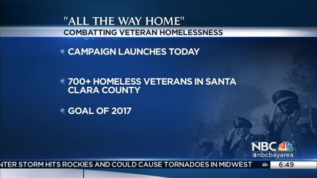 [BAY] San Jose, Santa Clara County Launch 'All the Way Home' To Get Homeless Veterans Off the Streets