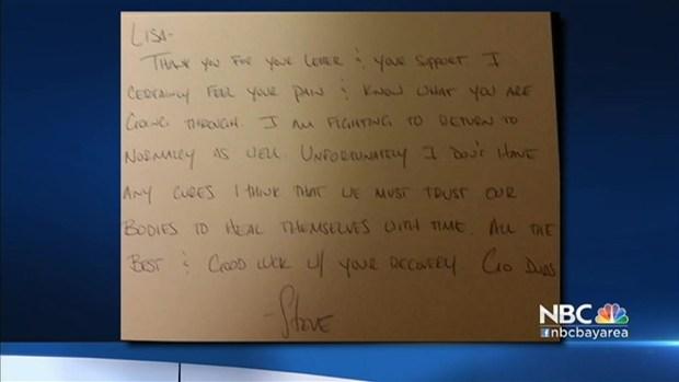 [BAY] Warriors Coach Steve Kerr Sends Encouragement Letter to Fan