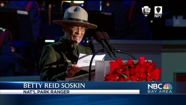 Nation's Oldest Full-Time Park Ranger Introduces President Obama