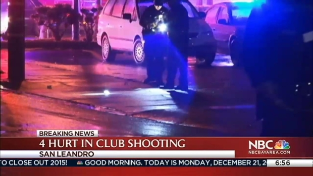 [BAY] Four Shot at Club Caliente in San Leandro, Suspect At Large: PD