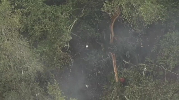 RAW VIDEO: Crews Locate Wreckage of Missing Plane in East Bay