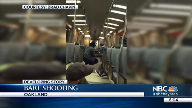 [BAY] BART Continues to Investigate Unprecedented Fatal Weekend Shooting; Rider Captures Aftermath on Video
